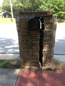 mailbox back